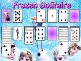 flash игра Frozen. Solitaire