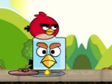 flash игра Angry birds. Find your partner