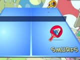 Smurfs. Table tennis