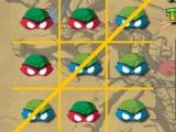 flash гра Ninja Turtles. Tic-Tac-Toe