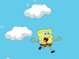 flash игра SpongeBob. Clouds