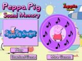 Peppa Pig. Sound memory