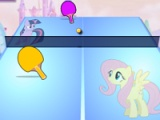 flash игра My little pony. Table tennis