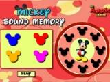 flash игра Mickey. Sound memory