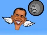 flash игра Flappy Obama