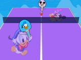 Table tennis. Donald Duck