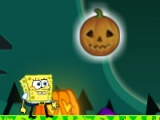 flash игра Spongebob in Halloween 3
