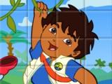 Sort my tiles. Dora the explorer