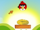 flash игра Angry birds come back to nest