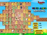 flash игра Super Mario. Mahjong