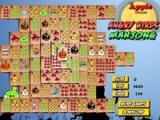 flash игра Angry birds. Mahjong
