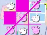 flash игра Peppa Pig. Tic-Tac-Toe