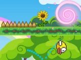 flash игра Flappy bird: forest adventure