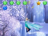 flash игра Princess Elsa: bounce