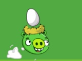 flash игра Angry pig steals eggs