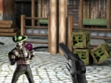 flash игра Freaky cowboys. Shootout