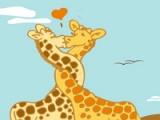 flash игра Lovers giraffes
