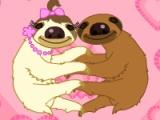 flash игра Slip slide sloth