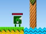 flash игра Cube Green Men