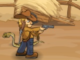 flash игра Crazy cowboy