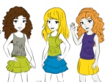 Lego friends. Painting