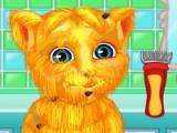 Talking Ginger. Shaving