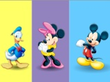 Mickey Mouse. Colours memory