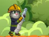 flash игра Tom 2. Become fireman