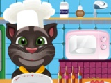 Talking Tom. Cooking class