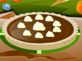 Monster High. Epic chocolate pie