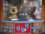 flash игра Talking Tom at TV