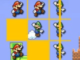 Flash-Spiel Mario. Tic-Tac-Toe