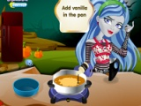 Ghoulia Yelps. Chocolate pie