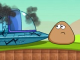 flash игра Pou fix spaceship