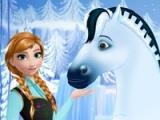 flash игра Anna's royal horse caring