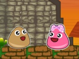flash игра Pou escape
