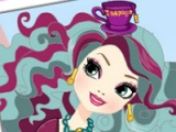 Ever After High. Round puzzle