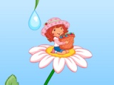 flash игра Strawberry Shortcake. How a garden grows