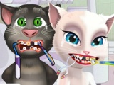 flash игра Angela and Tom at the dentist