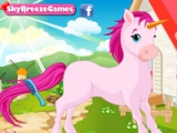 flash игра CA Cupid's Unicorn caring