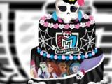 Monster High. Wedding cake