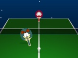 flash game Garfield ping pong