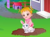 flash игра Baby Hazel. Pet care