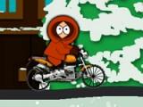 flash игра South park. Bike