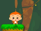 flash игра Monkey jump