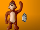 flash игра Slap the monkey