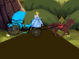flash игра Cinderella. Carriage ride