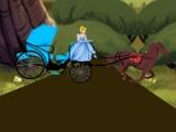 Cinderella. Carriage ride