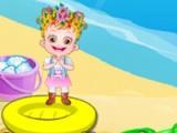 flash игра Baby Hazel. Bounce