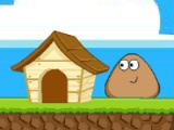 flash игра Pou back home